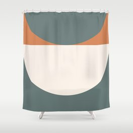 Abstract Geometric 03 Shower Curtain
