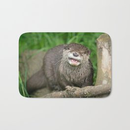 Smiling Otter Bath Mat