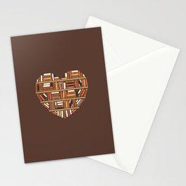 I Heart Books Stationery Cards