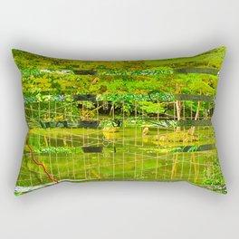 Landscape of My Heart (segment 3) Rectangular Pillow
