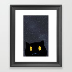 cat-371 Framed Art Print