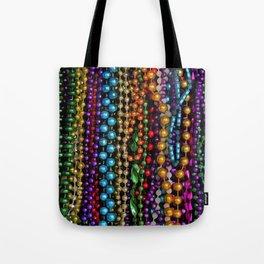 Mardi gras beads Tote Bag
