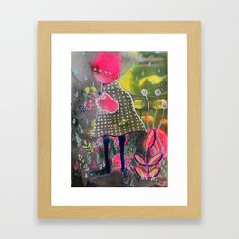And Then They Melted Framed Art Print