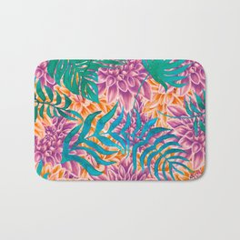 artistic floral cn Bath Mat