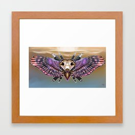 Flying Sheild Framed Art Print