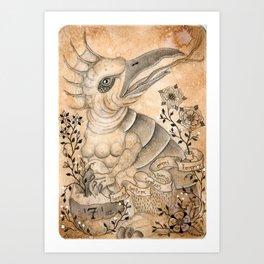 Materia III Art Print