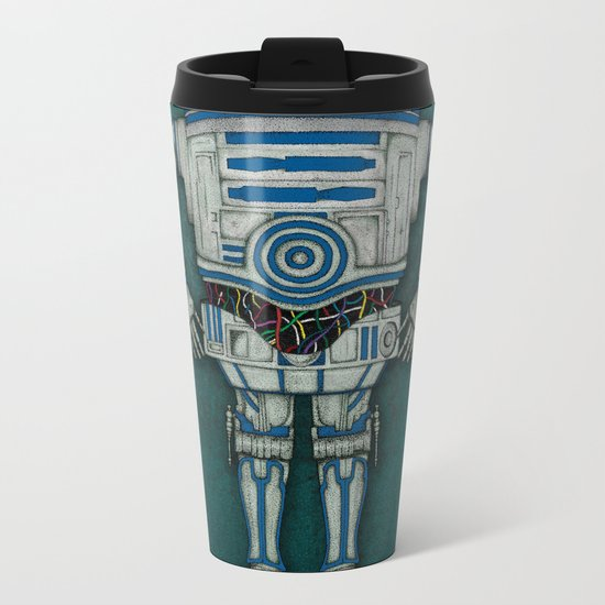 R2 3PO Metal Travel Mug