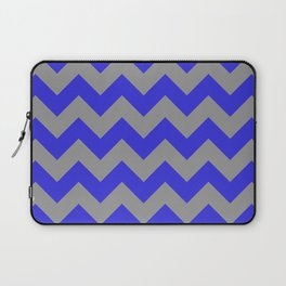 Chevron Navy Laptop Sleeve