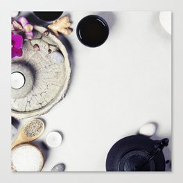 spa background Canvas Print