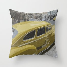 Old but gold Throw Pillow
