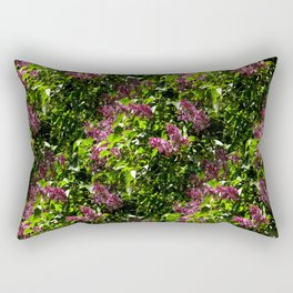 Flowing lilacs... Rectangular Pillow