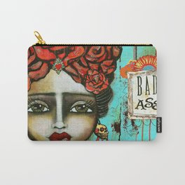FRIDA PAINTING BAD ASS Carry-All Pouch