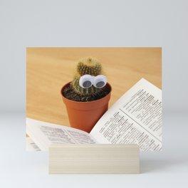 Cactus Eyes Book Mini Art Print
