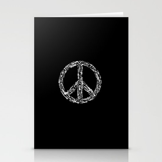 Peace? Stationery Cards