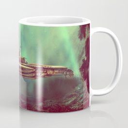 Golden Pirate Submarine Coffee Mug