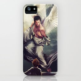 Supernatural: Angel watching over you iPhone Case