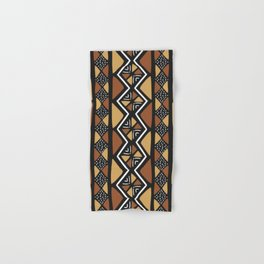 African mud cloth Mali Hand & Bath Towel