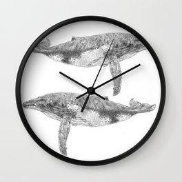 A Humpback Whale Wall Clock