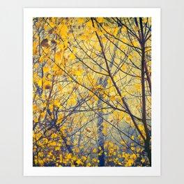 trees IX Art Print