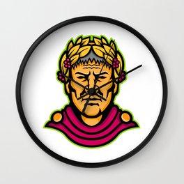 Gaius Julius Caesar Mascot Wall Clock