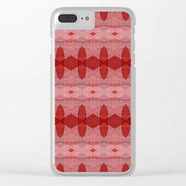 feeling ruby Clear iPhone Case