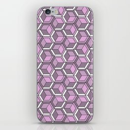 Pink and mint iPhone Skin