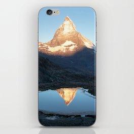 Matterhorn Sunrise iPhone Skin