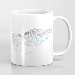 Breckenridge, CO - Minimalist Trail Map Coffee Mug
