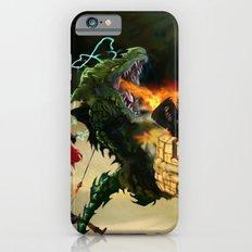 Dragon Burns Castle iPhone 6s Slim Case