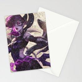 Morgana Blade mistress da vinci style artwork Stationery Cards