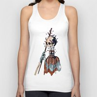 native Tank Tops featuring Native  by PAFF