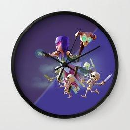 witch art  Wall Clock