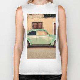 Vintage Beetle (Color) Biker Tank