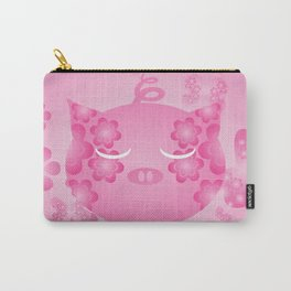 Pink Pig Carry-All Pouch