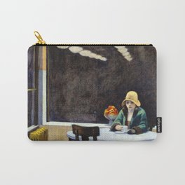 Automat, 1927 by Edward Hopper Carry-All Pouch