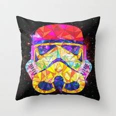 SpaceStorm Throw Pillow