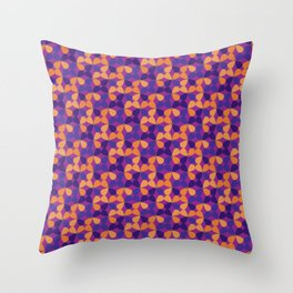 Fields of purple Throw Pillow