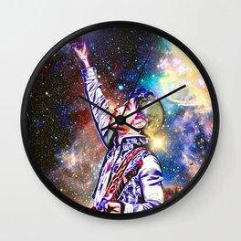 Prince in Heaven Wall Clock
