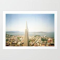 Transamerica Pyramid, San Francisco Art Print