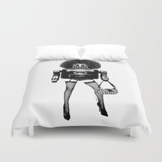 A Tragedy of Obsolescence Duvet Cover
