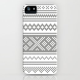 Northern Knit III iPhone Case