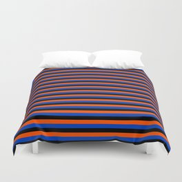Color Stripe _001 Duvet Cover