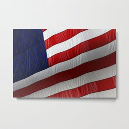 American Presence Metal Print