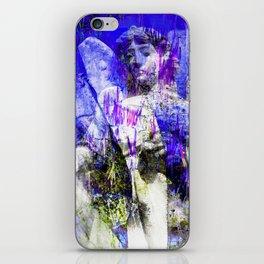 Blue Symphony of Angels iPhone Skin
