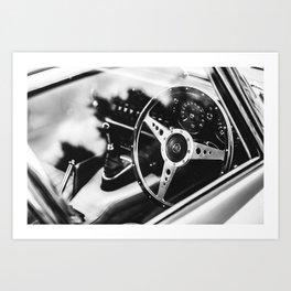 Jaguar E-Type Art Print