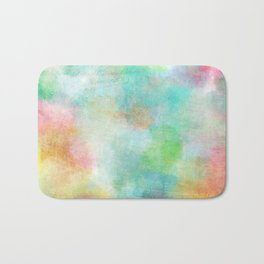 colorful batic look Bath Mat