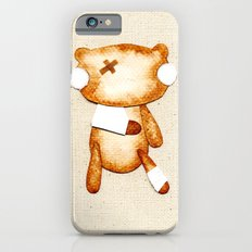 Poorly Sick - Get Well Soon Zombie Bear Slim Case iPhone 6s