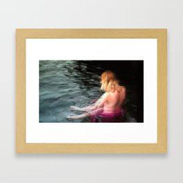 Sprite Soothes The Waters Framed Art Print