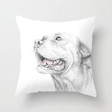 Murphy :: Loyalty Throw Pillow