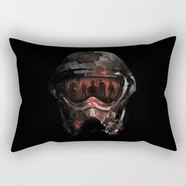 Genocide Rectangular Pillow